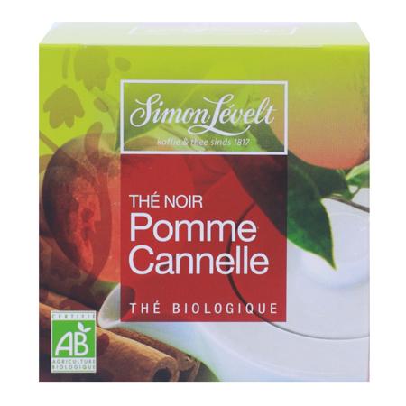 Чай черный байховый ароматизированный apple cinnamon, simon levelt
