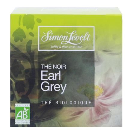 Чай черный байховый ароматизированный earl grey, simon levelt
