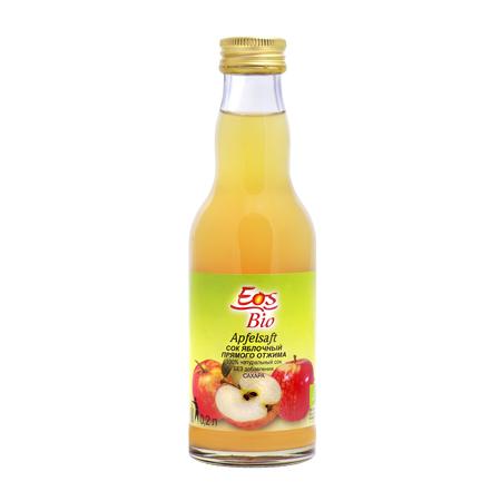 Сок яблочный 200 мл eos bio (Eos Bio)