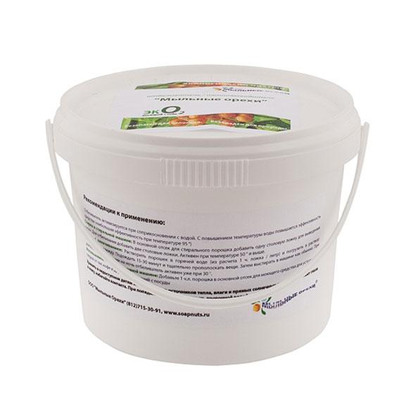 Экологически чистый кислородный отбеливатель эко2 кислород+сода мыльные орехи