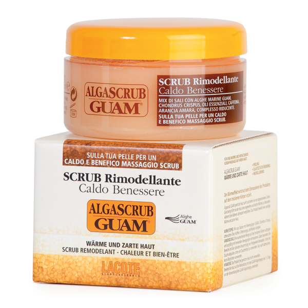 Скраб моделирующий для тела algascrub guam, 420 гр (Guam)