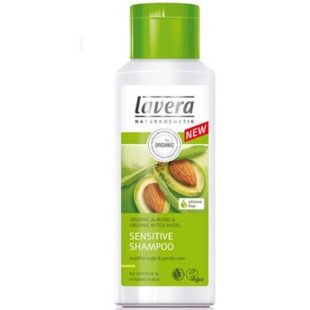 Био-шампунь для чувствительной кожи миндальное молочко lavera (Lavera)