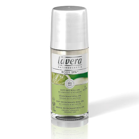 Шариковый био-дезодорант лайм lavera 331