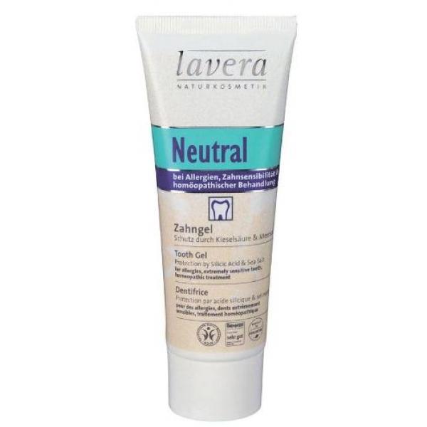 Зубная био паста гель нейтральная lavera мягкое очищающее био молочко lavera