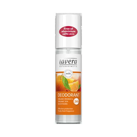 Био дезодорант спрей освежающий апельсин и облепиха lavera био дезодорант спрей освежающий апельсин и облепиха lavera