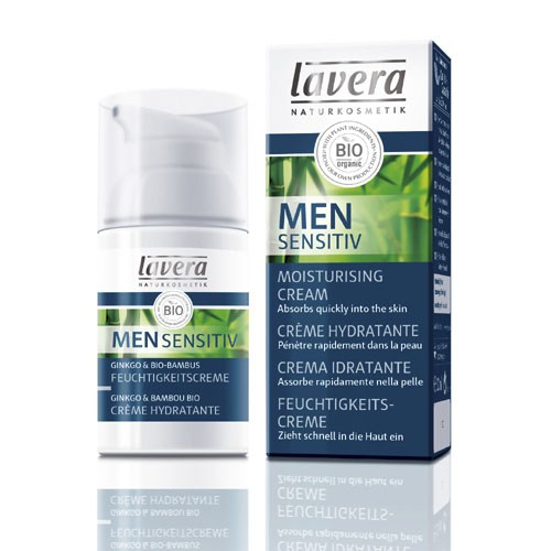 Мужской био-крем для лица увлажняющий lavera