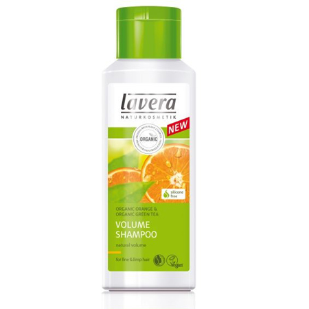 Био-шампунь для тонких волос апельсиновый коктейль lavera (Lavera)