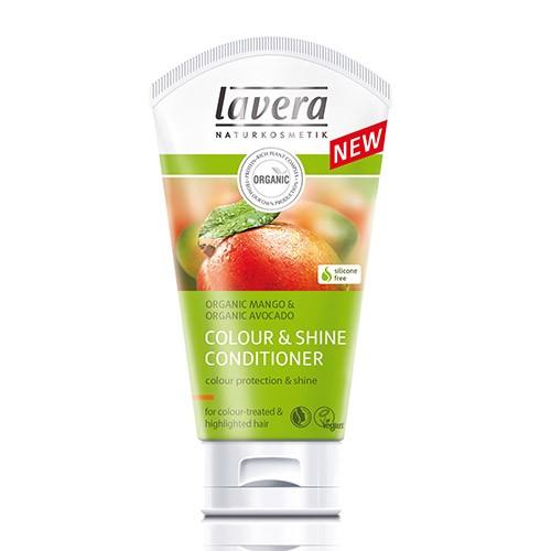 Био-кондиционер для окрашенных волос «сияние цвета» lavera 3547