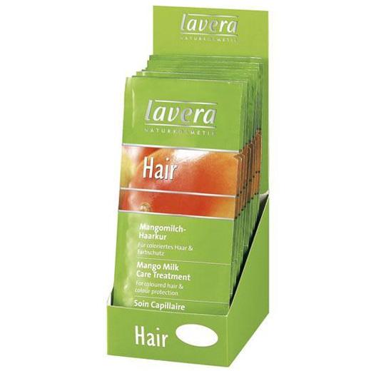 Саше био-маска волос «сияние цвета» lavera