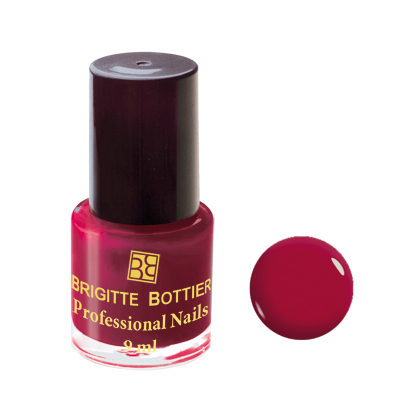 Лак для ногтей (оттенок 01, тёмно-красный) professional nails brigitte bottier