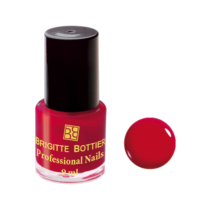 Лак для ногтей (оттенок 02, красный) professional nails brigitte bottier