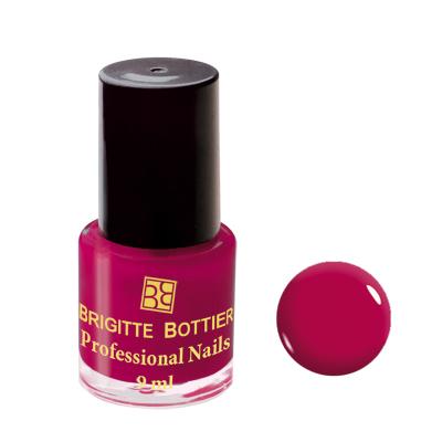 Лак для ногтей (оттенок 03, вишневый) professional nails brigitte bottier