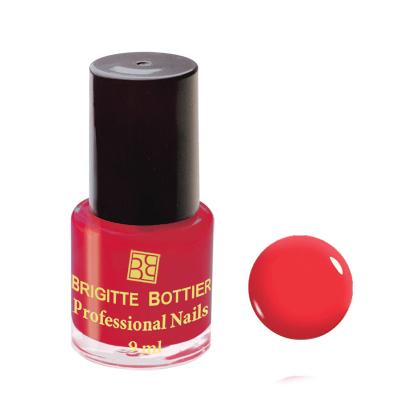 Лак для ногтей (оттенок 08, ярко-коралловый) professional nails brigitte bottier