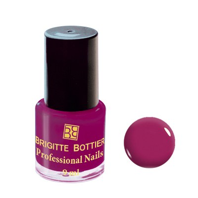 Лак для ногтей (оттенок 11, тёмно-сиреневый) professional nails brigitte bottier