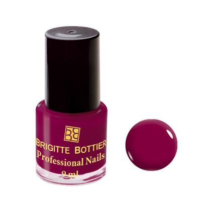 Лак для ногтей (оттенок 22, бордовый) professional nails brigitte bottier