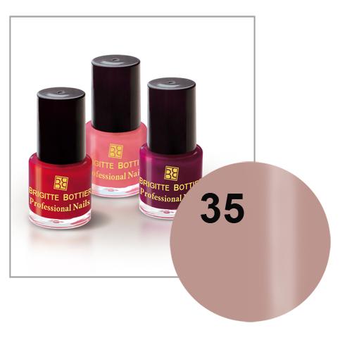 Лак для ногтей (оттенок 35, какао с молоком) professional nails brigitte bottier