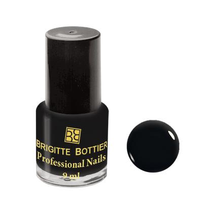 Лак для ногтей (оттенок 38, черный) professional nails brigitte bottier