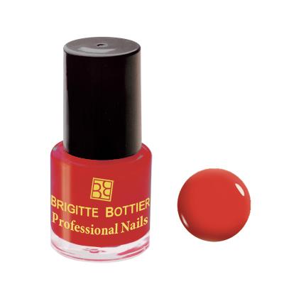 Лак для ногтей (оттенок 45, темно-терракотовый) professional nails brigitte bottier