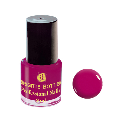Лак для ногтей (оттенок 47, малиновый перламутр) professional nails brigitte bottier