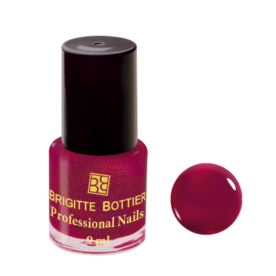 Лак для ногтей (оттенок 55, вишневый перламутр) professional nails brigitte bottier