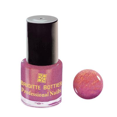 Лак для ногтей (оттенок 62, розово-золотистый перламутр) professional nails brigitte bottier