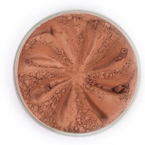 Бронзер сатиновый (коричнево-карминный) era minerals