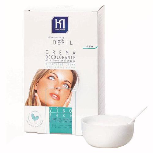 Обесцвечивающая система для лица easy depil