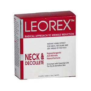 Инновационное средство leorex — для шеи и декольте (10 саше) DeoShop 2550.000