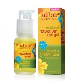 Гель с зеленым чаем green tea eye gel для кожи вокруг глаз alba botanica недорого