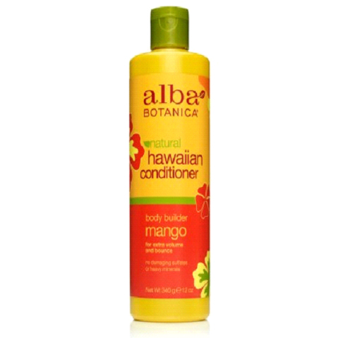 Увлажняющий кондиционер «манго» alba botanica он профессиональный невесомые влаги шампунь природного масла