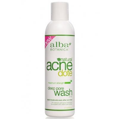 Средство для очищения жирной и проблемной кожи deep рore wash alba botanica