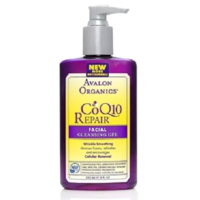 "Очищающий гель с CoQ10 ""Facial Cleansing Gel"" Avalon Organics"