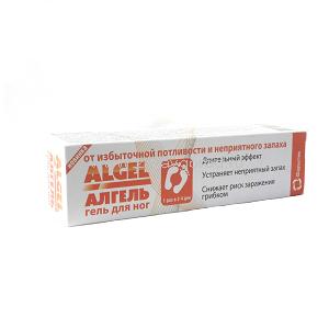 Гель - антиперспирант для ног длительного действия с противогрибковым эффектом алгель, 20 мл (Зеленая Дубрава, ЗАО)