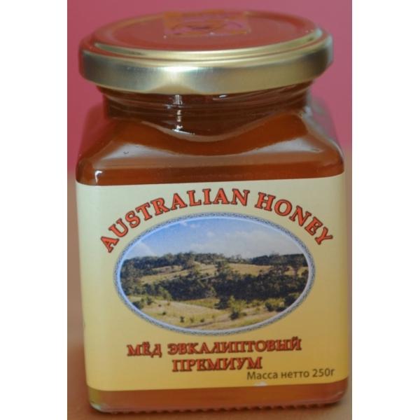 Мед натуральный эвкалиптовый «премиум» полифлорный living nature