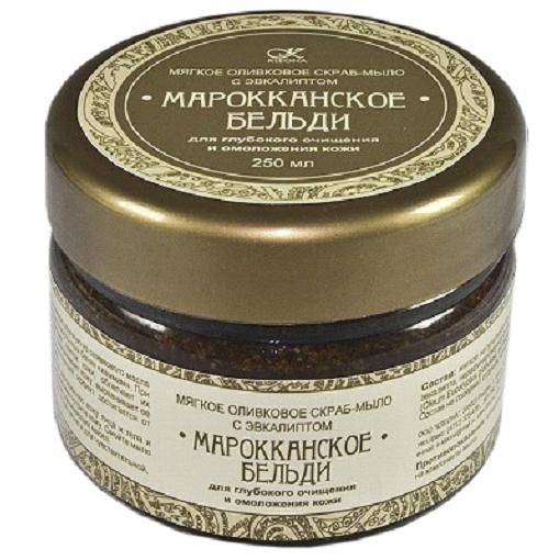Скраб-мыло «марокканское бельди» клеона