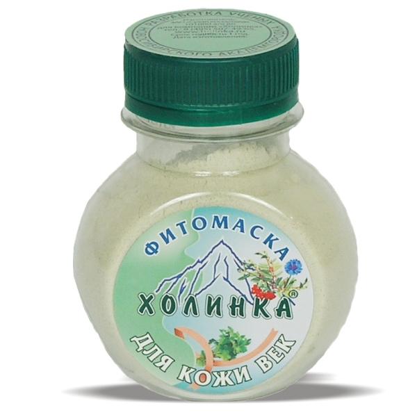 Фитомаска «холинка» для кожи век, 100 гр фитомаска холинка для жирной и нормальной кожи 10 гр