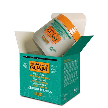 Маска антицеллюлитная с охлаждающим эффектом fanghi d'alga 500 гр guam 0431