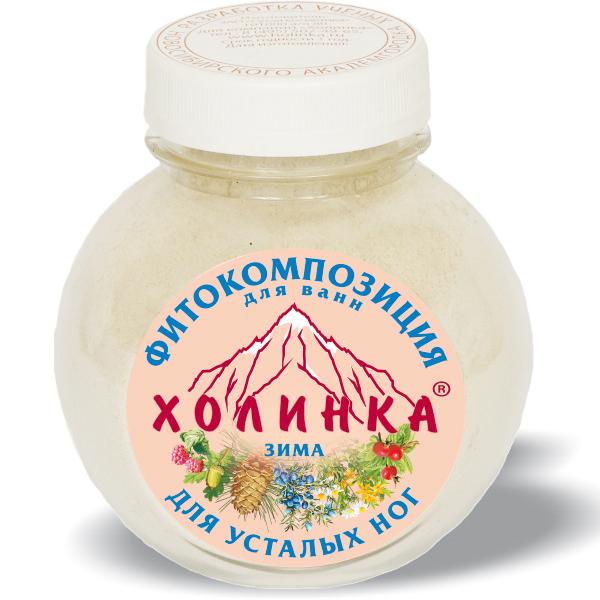 Фитокомпозиция для усталых ног «зима» холинка, 400 гр (Холинка)