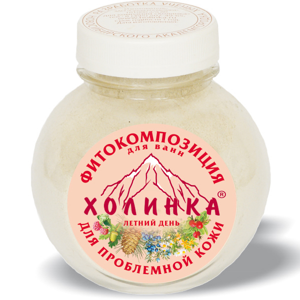 Фитокомпозиция летний день для проблемной кожи холинка, 400 гр (Холинка)