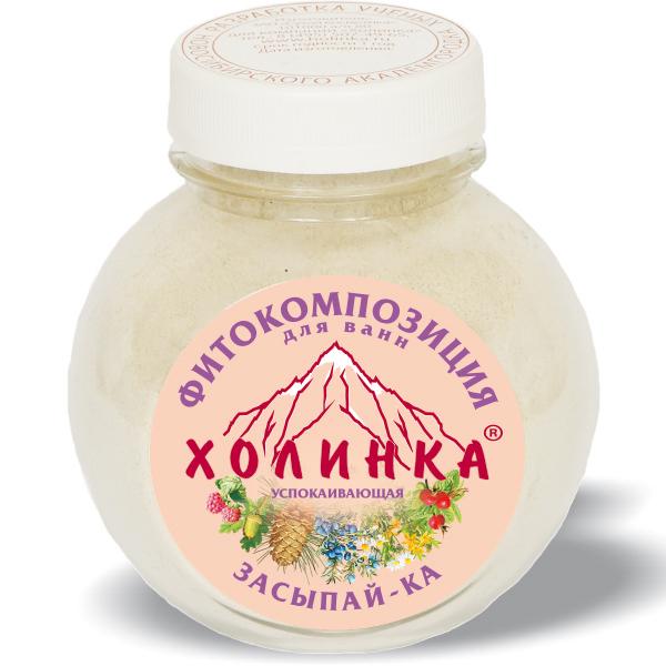 Фитокомпозиция для ванны «засыпай-ка»  холинка, 100 гр