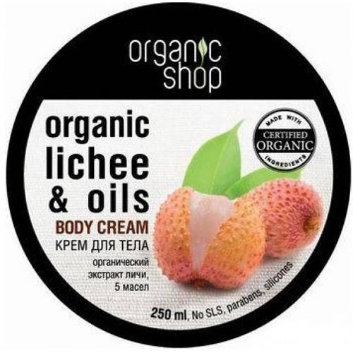 Крем для тела «розовый личи» organic shop