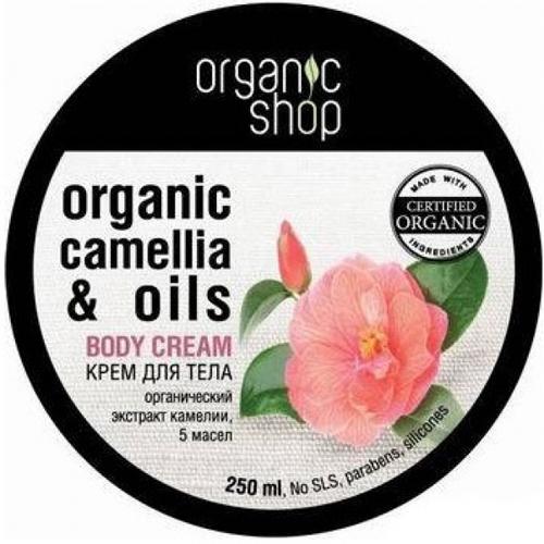 Крем для тела «японская камелия» organic shop