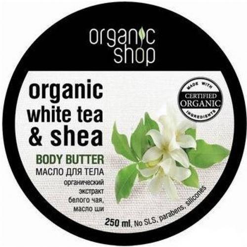 """Масло для тела «белый чай» organic shop phytomer масло восстанавливающее сияние кожи """"роса"""" 30мл"""