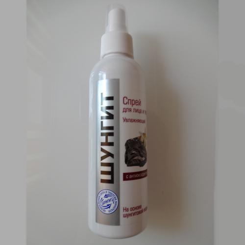 Спрей для лица и шеи шунгит увлажняющий (Шунгит)