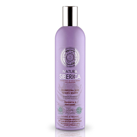 Шампунь для сухих волос «защита и питание» natura siberica