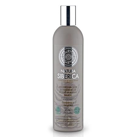 Шампунь для уставших и ослабленных волос «защита и энергия» natura siberica