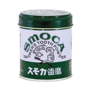 Зубной порошок для курящих со вкусом мяты и эвкалипта smoca green (SMOCA)