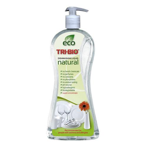 Натуральная эко-жидкость для мытья посуды tri-bio