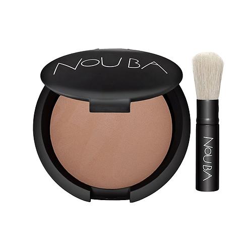 Пудра матирующая компактная легкая вуаль boule powder (тон №74), nouba пудра матирующая двойного действия noubamat тон 57 nouba