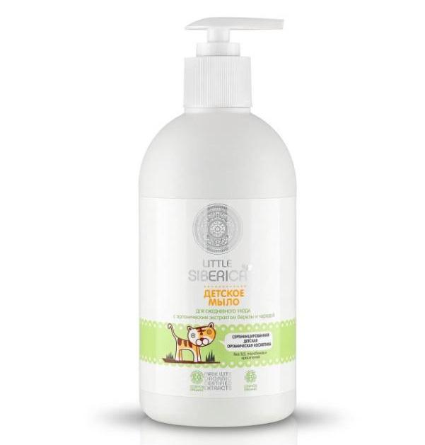 Детское мыло для ежедневного ухода natura siberica